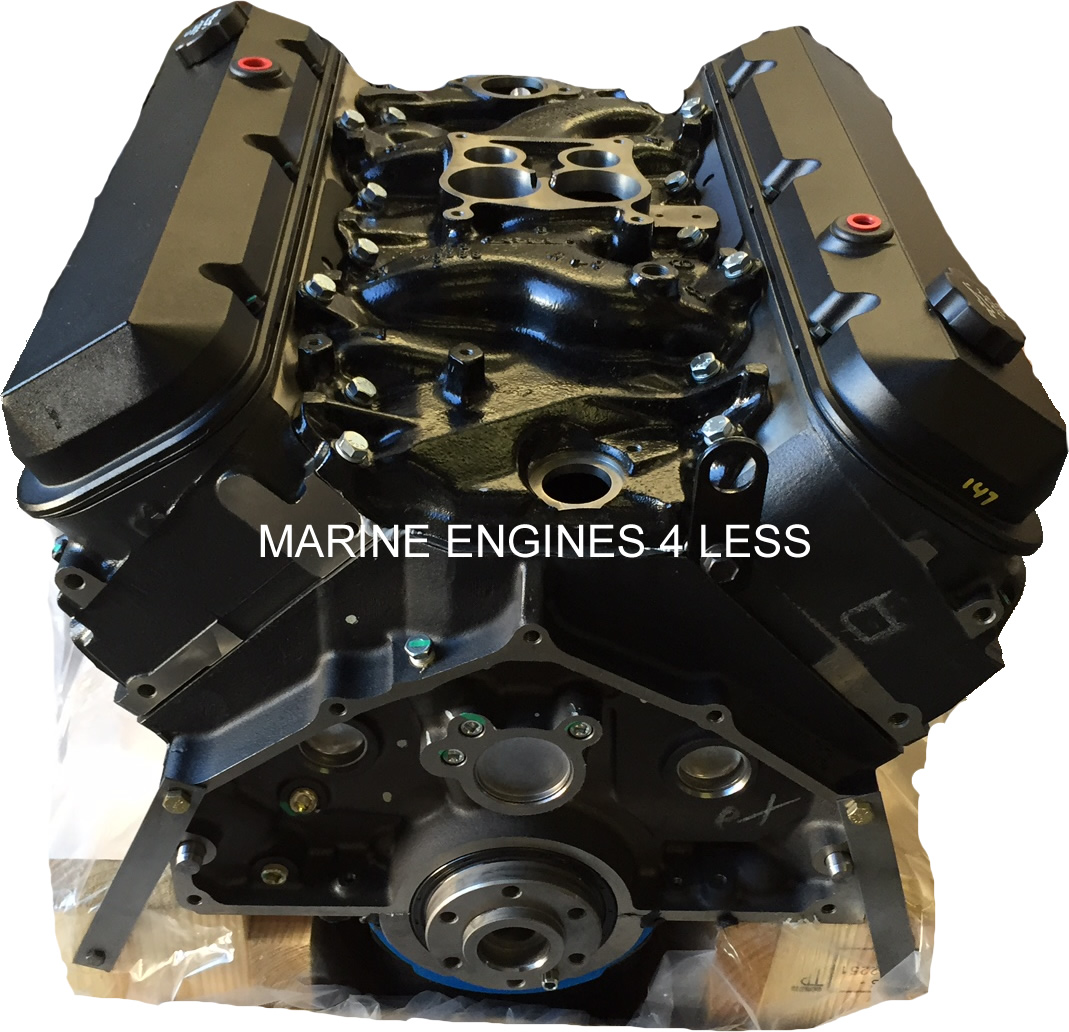 New 7 4L Gen VI Marine Extended Base Engine (replaces years 1991-newer)