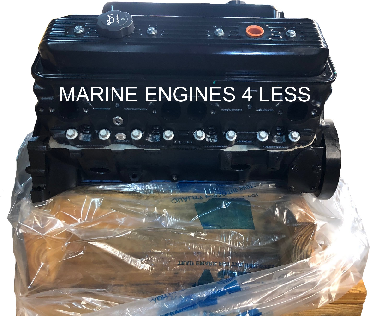 Remanufactured 5 7L Pre-Vortec - 1996 - Marine Base Engine