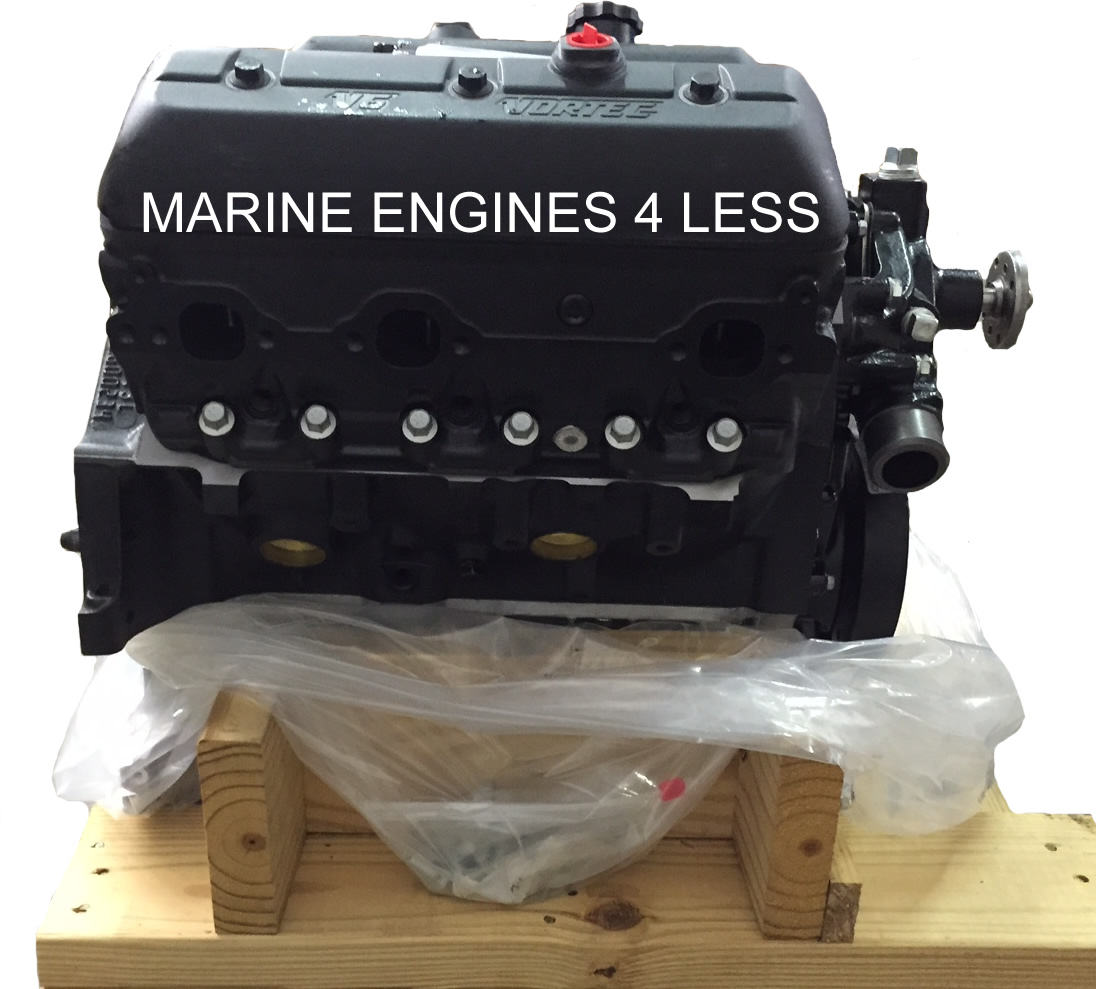 Engine Intake Manifold : Marine engines remanufactured
