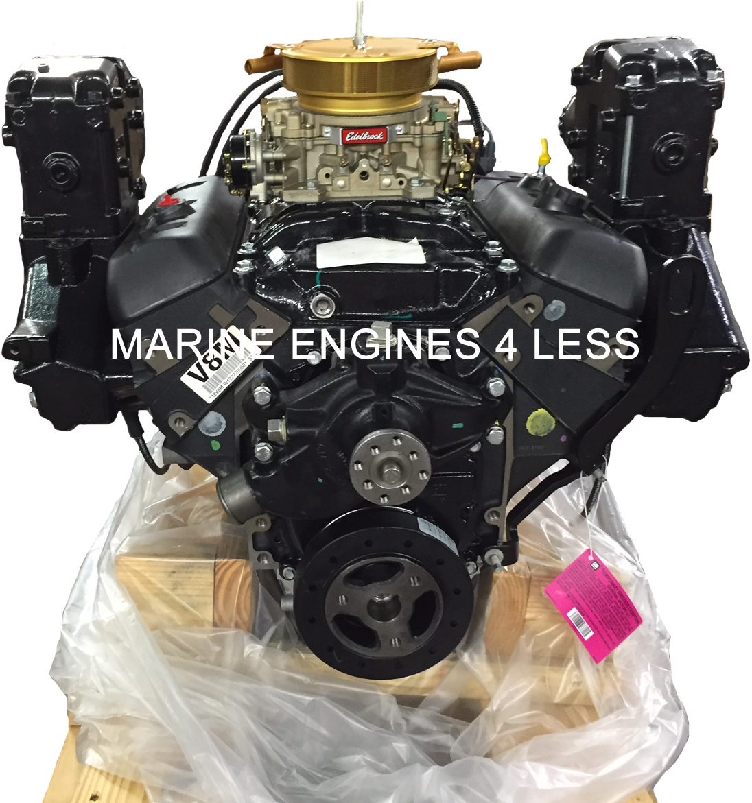 New 4 3L Vortec Marine Extended Base Engine with Exhaust (replaces  1996-2007)