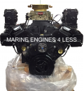 Remanufactured 5.7L Vortec Complete Marine Engine with Exhaust