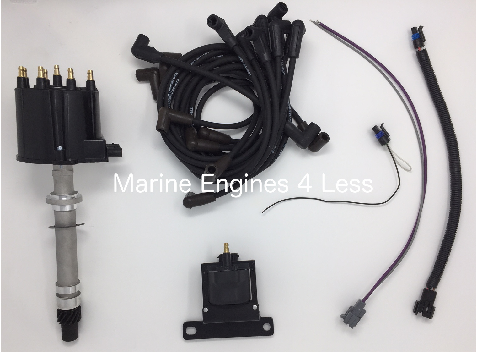 Marine Parts Accessories 74l 82l Hei Est Distributor Kit Gm Wiring Pig Tail Ac Delco Voyager 454 Ci